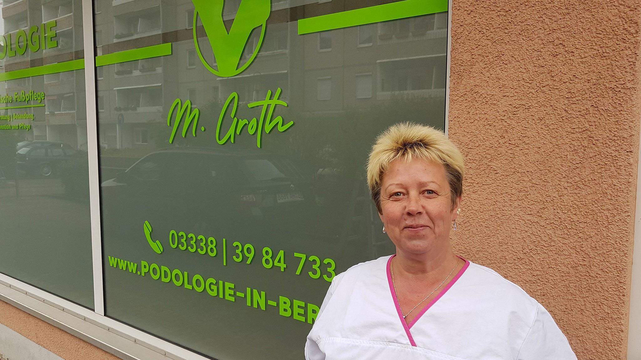 Podologie und medizinische Fusspflege von Manuela Groth in Bernau bei Berlin